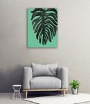 Tropical Palm II Wall Art Print on the wall
