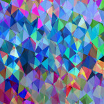 Geometric Squared IV Wall Art Print