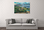 View From Goose Park Wall Art Print on the wall