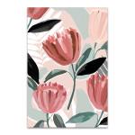 Dreamy Petals I Wall Art Print