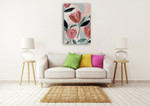 Dreamy Petals I Wall Art Print on the wall