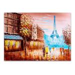 Street Views of Paris Wall Art Print