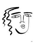 Making Faces V Wall Art Print