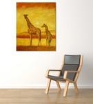 Safari on the wall