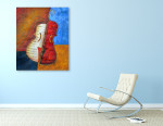 Musical Instrument on the wall