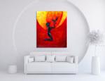 Phoenix on the wall