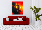 Woodwind Instrument on the wall