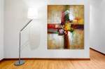 Modern Splashes on the wall