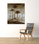 Coconut Trees One on the wall