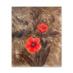 Two Red Flowers I