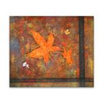 Orange Maple Leaves