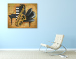 Musicale on the wall