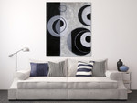 Concentric Circles on the wall