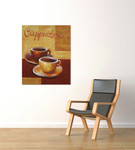 Cappuccino on the wall