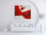 Red Lips on the wall