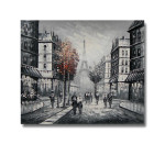 Paris Art Canvas