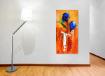 Duo Blooms on the wall