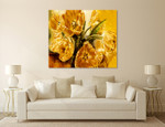 Sunny Bouquet on the wall