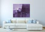 Purple Haze on the wall