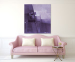 Purple Haze II on the wall