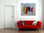 Chili Pepper on the wall