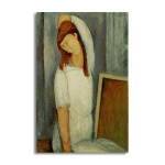 Modigliani   Jeanne Hebuterne Left Arm Behind Head