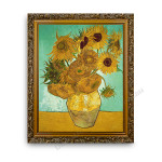 The Sunflower Gold Ornate Outer Frame