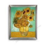 The Sunflower Modern Flat Silver