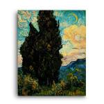 Vincent Van Gogh | Cypresses