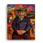 Vincent Van Gogh | Portrait of Pere Tanguy