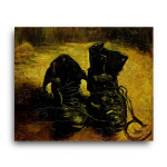 Vincent Van Gogh   A Pair of Shoes