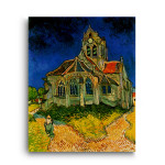 Vincent Van Gogh | The Church at Auvers-sur-Oise