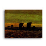 Vincent Van Gogh | Two Peasant Women in the Peat Fields