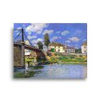 Degas | Bridge at Villeneuve-la-Garenne