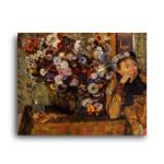 Degas   Woman with Chrysanthemums