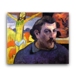 Paul Gaugin | Self Portrait with the Yellow Christ
