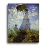 The Woman with a Parasol
