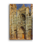 Monet | Rouen Cathedral Sunlight Effect2
