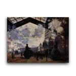 Monet | Saint-Lazare Station