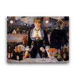 Manet | A Bar at the Folies-Bergeres