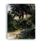 Manet | Garden Path in Rueil