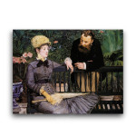 Manet   In the Conservatory