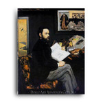 Portrait d'Emile Zola