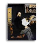 Manet   Portrait d'Emile Zola