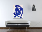 Blue Nude on the wall