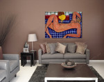 Large Reclining Nude (The Pink Nude) on the wall