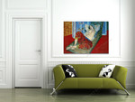 Odalisque with Red Culottes on the wall