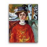 Matisse | The Girl with Green Eyes