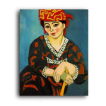 Matisse | The Red Madras Headress