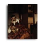 Jan Vermeer | A Woman Asleep at a Table